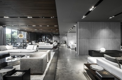 Interior design photography minotti showroom – Filippo Orsi