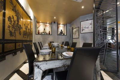 Interior photography restaurant