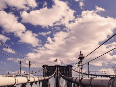 ponte di brooklyn new york by filippo orsi