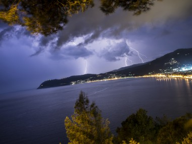 tempesta fulmini thunder lightning storm by filippo orsi