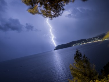 thunder lightning storm tempesta fulmini by filippo orsi